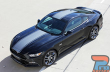 Mustang Racing Stripes with Pinstripes CONTENDER 2015 2016 2017