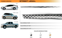 STREET LEGAL Universal Vinyl Graphics Decorative Striping and 3D Decal Kits by Sign Tech Media, Inc. (STM-SL)