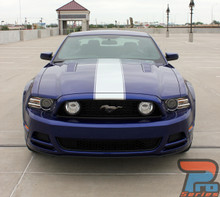 2014-2013 Ford Mustang Side and Hood Stripes PRIME 2