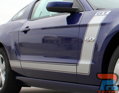 2013 Ford Mustang Hood and Side Stripes PRIME 2 3M 2013-2014
