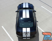 2013-2014 Ford Mustang Racing Stripes Decals 3M THUNDER Kit