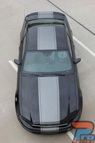 Wide Center Stripes on Ford Mustang VENOM 3M 2013-2014