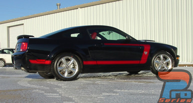 Mustang Pony Decals FASTBACK 1 2005 2006 2007 2008 2009