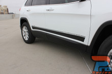 Body Side Decals on Jeep Cherokee BRAVE 2014-2017 2018 2019