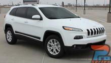 Jeep Cherokee Lower Rocker Decals 3M BRAVE 2014-2017 2018 2019 2020 2021