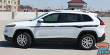 Side Stripes on Jeep Cherokee CHIEF 2014-2016 2017 2018 2019 2020 2021