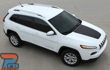 Jeep Cherokee Trailhawk Hood Decals T-HAWK 2014-2017 2018 2019