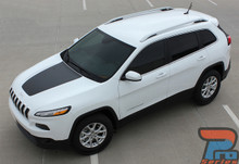2017 Jeep Cherokee Hood Decal 3M T-HAWK HOOD 2014-2018 2019