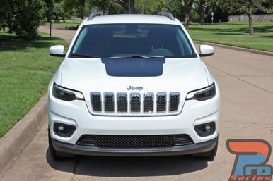 Jeep Cherokee Trailhawk Hood Stripes T-HAWK HOOD 2014-2019 2020
