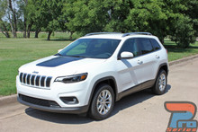 Cherokee Trailhawk Hood Decals T-HAWK 3M 2013-2017 2018 2019 2020