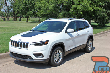 Cherokee Trailhawk Hood Decals T-HAWK 3M 2013-2017 2018 2019 2020 2021