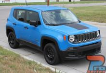 Jeep Renegade Decals RENEGADE HOOD 2014-2017 2018 2019 2020 2021