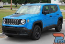 Jeep Renegade Hood Stripe RENEGADE HOOD 2014-2017 2018 2019 2020 2021