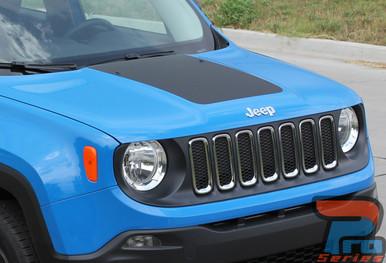 Jeep Renegade Hood Decal RENEGADE HOOD 3M 2014-2018 2019 2020 2021