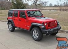 2018-2019 2020 Jeep Wrangler Hood Decal SPORT HOOD 3M