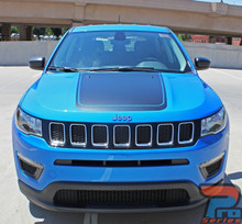 Jeep Compass Hood Graphic Stripe 3M BEARING HOOD 2017-2019