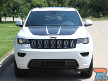 Jeep Grand Cherokee Hood Stripe 3M TRAIL HOOD 2011-2019
