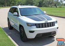 2011-2019 2020 Grand Cherokee Hood Graphics TRAIL HOOD