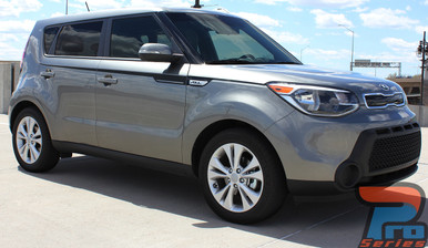 Kia Soul Upper Body Stripe Decals 3M ENSOUL 2014-2019