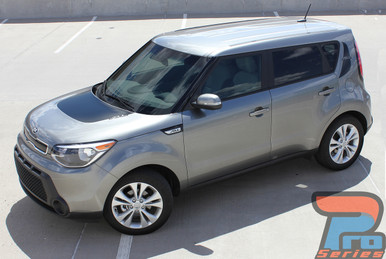 Kia Soul Hood and Side Decals 3M SOULPATCH 2010-2017 2018 2019