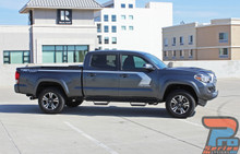 Toyota Tacoma Side Graphics STORM 3M 2015 2016 2017 2018 2019