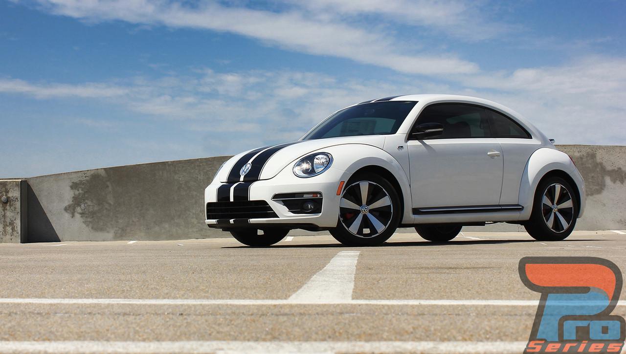 Volkswagen Beetle Dual Rally Racing Stripes 3M Vinyl Double Stripe Decals