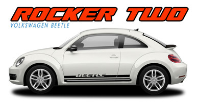 Side Stripes for Volkswagen Beetle ROCKER 2 3M 2012 2017 2018
