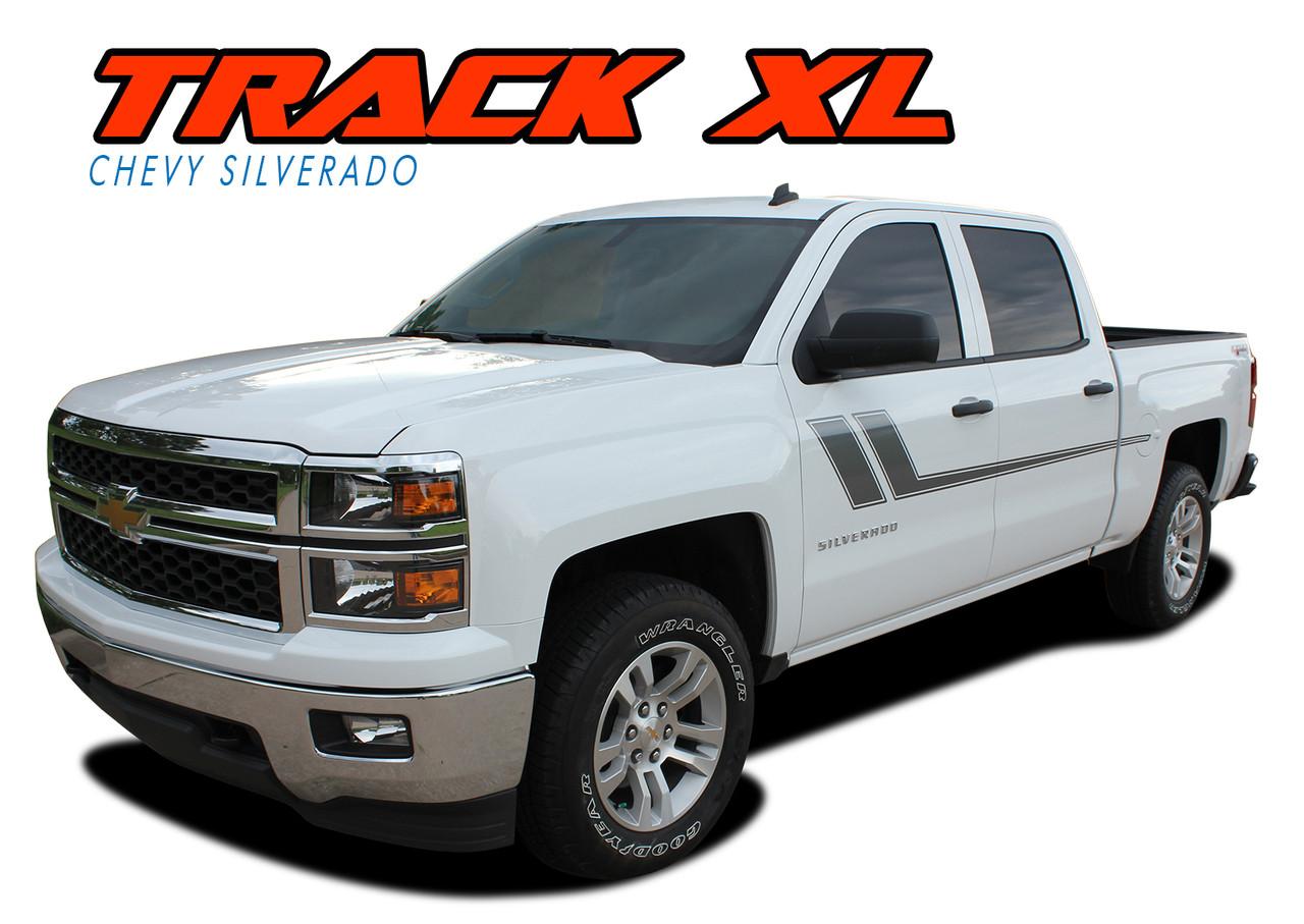 Track Xl Silverado Side Stripes Silverado Decals