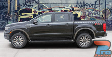 Ford Ranger Stripe Decals 2019 2020 UPROAR SIDE KIT Vinyl Graphics