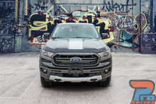 2020 2019 Ford Ranger Hood Stripes VIM HOOD Vinyl Graphic Decals