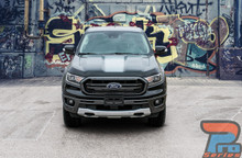 Ford Ranger Hood Stripe Decals 2019 2020 VIM HOOD Vinyl Graphics