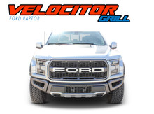 VELOCITOR GRILL : 2018 2019 2020 Ford Raptor Grill Text Letter Decals Vinyl Graphics Kit (VGP-6175)