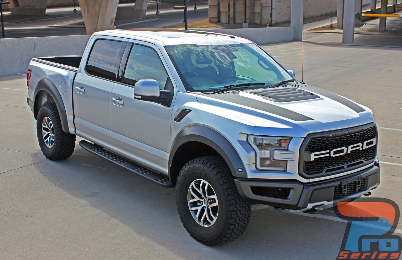 Ford F150 Raptor Hood Decals VELOCITOR HOOD 2018 2019 2020 ...