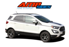 AMP SIDES : 2013-2019 Ford EcoSport Door Stripes Vinyl Graphics Decal Kit (VGP-5948)