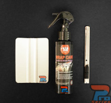 Basic Installation Kit with Vinyl Care Sealant for Vinyl Graphics, Decals and Stripe Installation