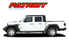 PATRIOT : 2020 Jeep Gladiator Body Star Vinyl Graphics Decal Stripe Kit