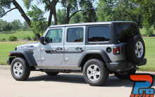 Side of 2019 Jeep Wrangler Stripes BYPASS SIDE KIT 2018-2020 2021
