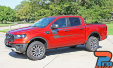 2019 Ford Ranger Door Stripes STRIKER SIDE KIT 2020 2019