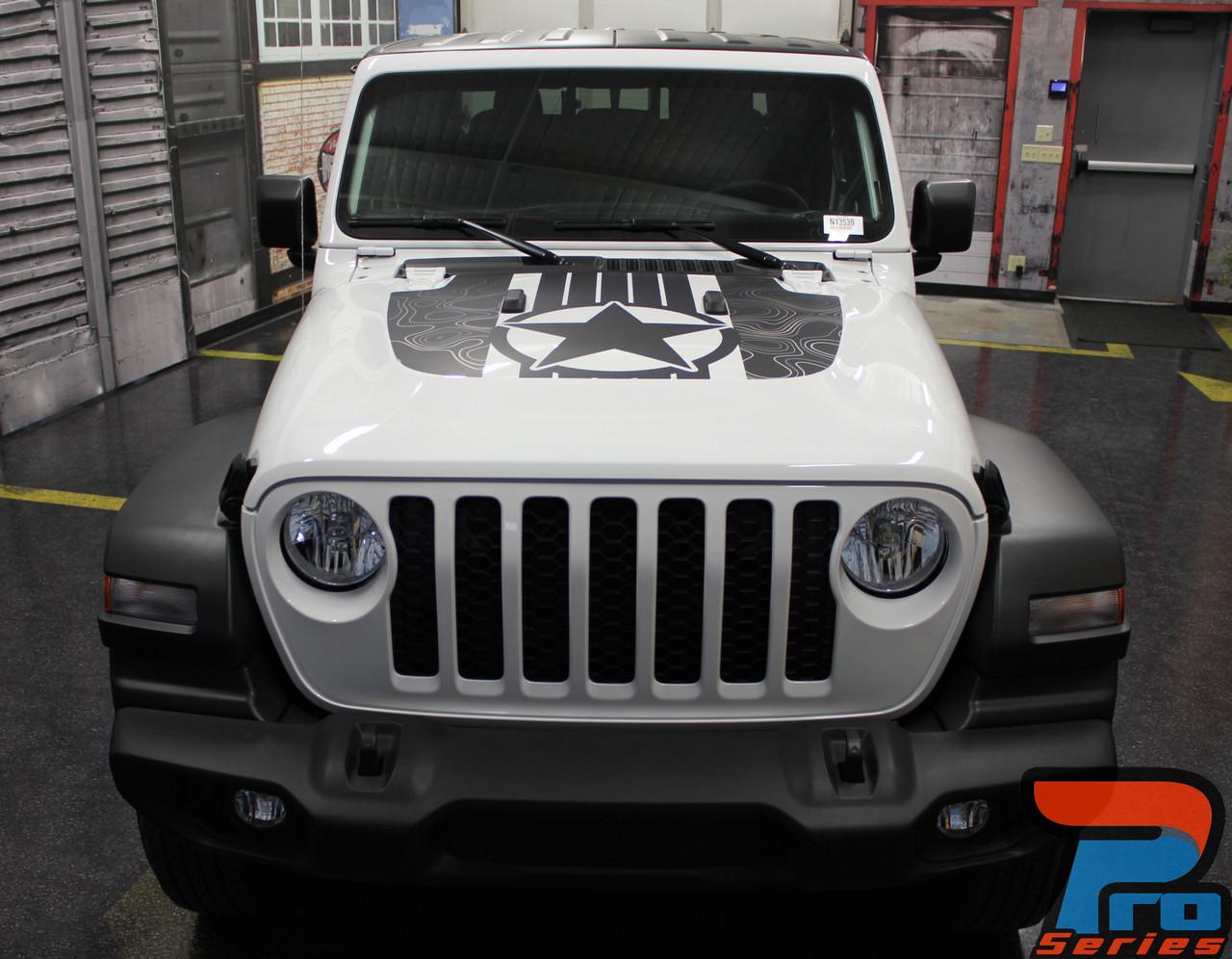 2020 2021 Jeep Wrangler Hood Decals Journey Hood Jl 2018 2020 2021