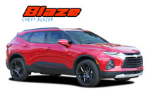 BLAZE : 2019-2021 Chevy Blazer Side Door Stripes Body Decals Accent Vinyl Graphics Kit