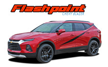 FLASHPOINT : 2019-2020 Chevy Blazer Side Body Stripes Door Decals Accent Vinyl Graphics Kit