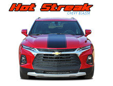 HOTSTREAK : 2019-2021 Chevy Blazer Hood Stripes Decals Accent Vinyl Graphics Kit