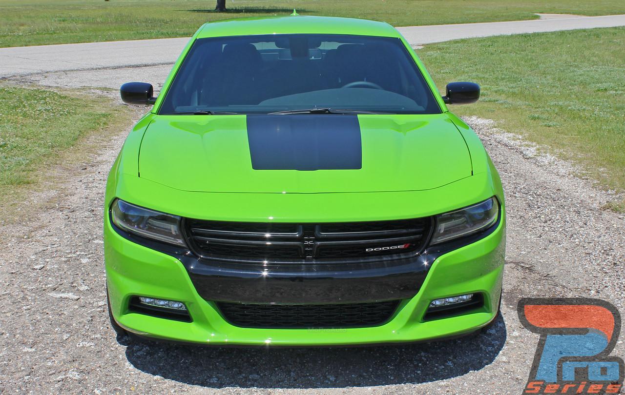 15 CHARGER HOOD | Dodge Charger Hood Decal Daytona Hemi ...