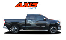 AXIS : 2015-2021 Toyota Tundra Side Body Stripes Vinyl Graphic Striping Decals Kit