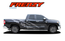 FRENZY : 2015-2021 Toyota Tundra Side Body Door Stripes Vinyl Graphic Striping Decals Kit