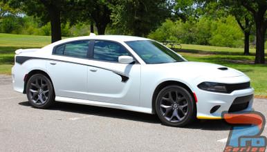 2015-2021 Dodge Charger Body Line Stripes RILED SIDE KIT
