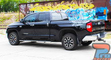 Black 2015-2021 Toyota Tundra Side Stripes BURST