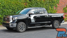 2020 Toyota Tundra Side Door Stripes TEMPEST 2015-2021