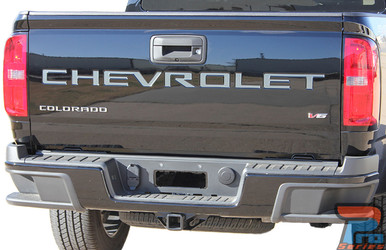 2021 Chevy Colorado Tailgate Letters COLORADO TAILGATE Decals