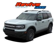 REVIVE RETRO HOOD : 2021 2022 Ford Bronco Sport Hood Decals Hood Stripes Vinyl Graphics Kit